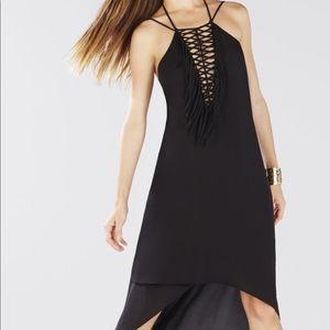 Bcbg Danita dress high low dress black